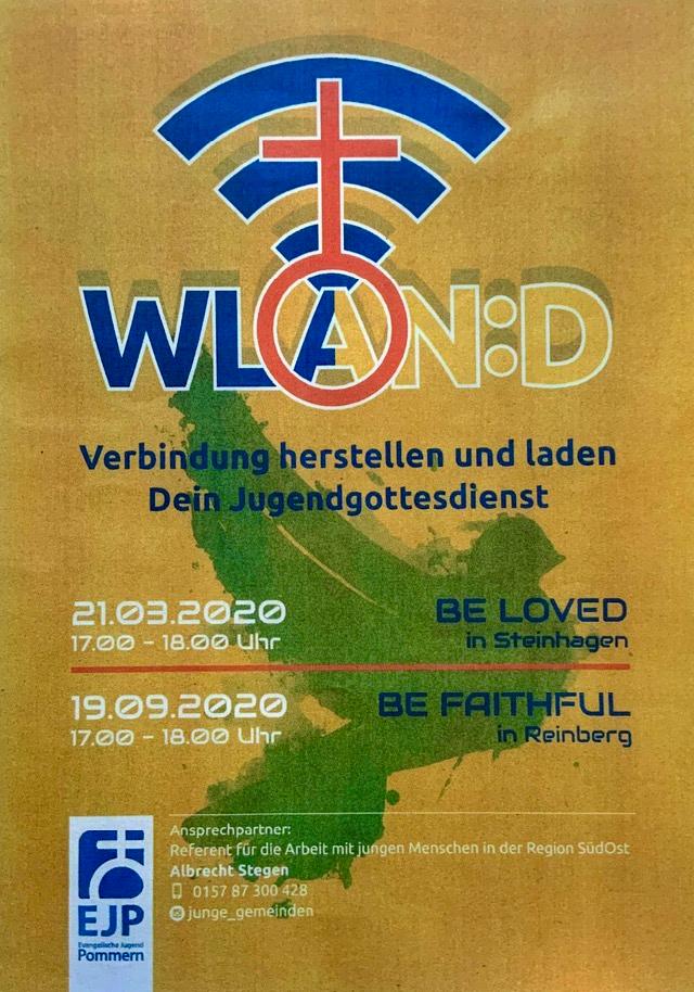 """WLAN:D - Jugendgottesdienst - """"Kirchen am Sund"""""""