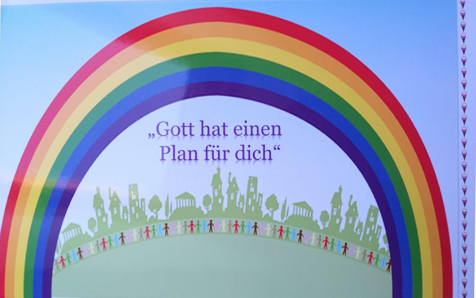Gott hat einen Plan für dich