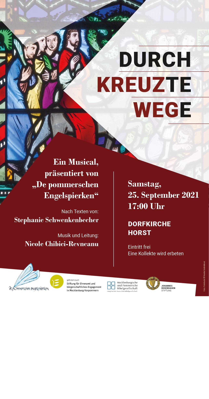 """Musical - """"Durchkreuzte Wege"""" - """"Kirchen am Sund"""""""